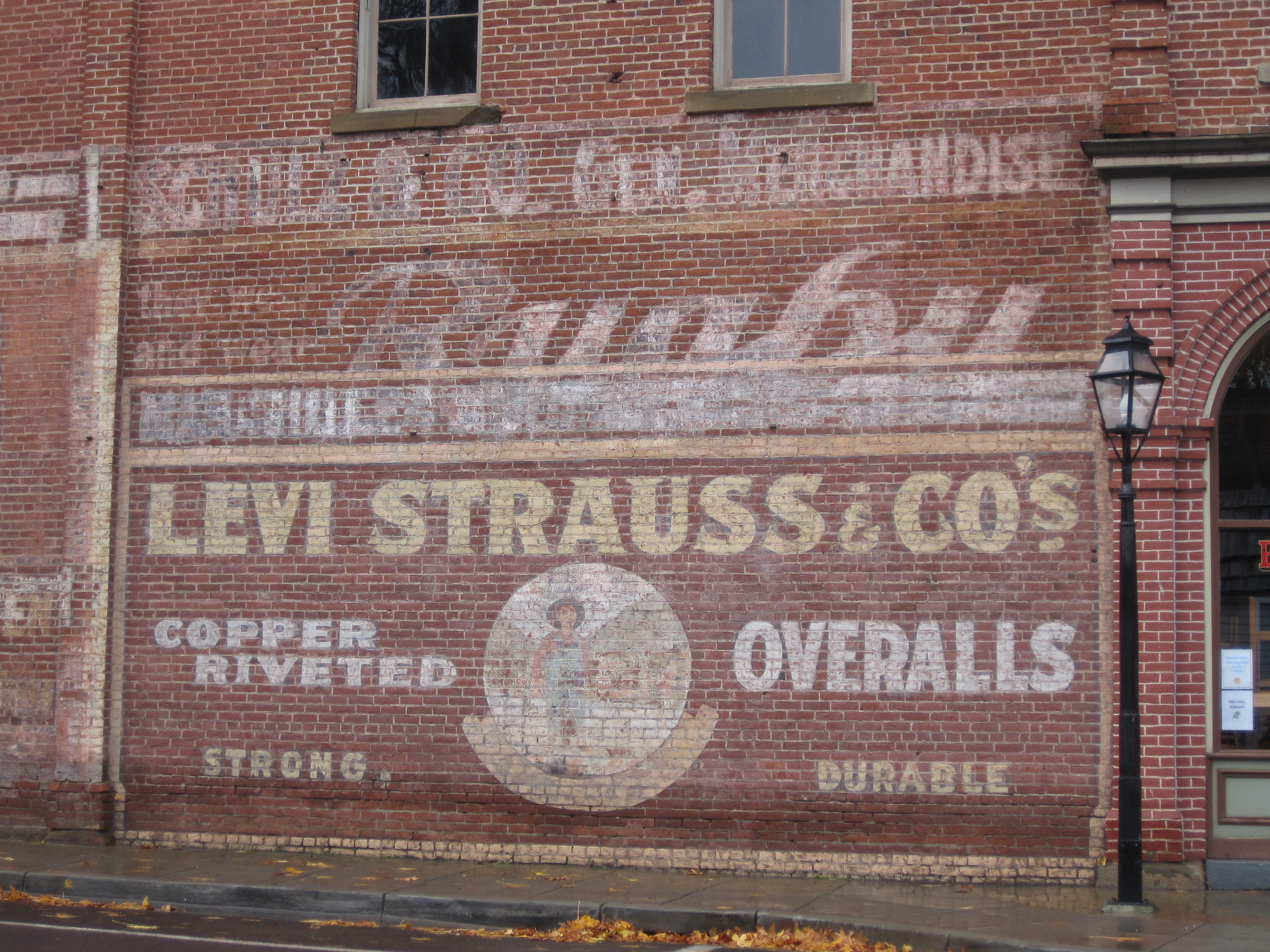 a history of the levis jeans You wear jeans you live in levi's® in 1853, levi strauss, an immigrant  from bavaria, opened a dry goods company in san francisco at the height of the .