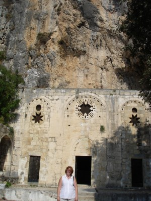 Church of St Peter in Antakya in the hillside