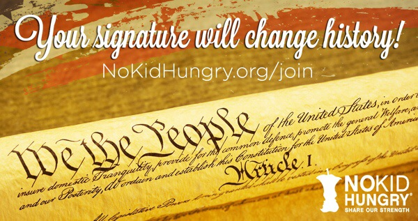 sign the pledge of independence