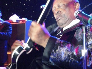 BB King up close & personal