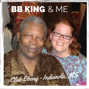 BB King & me at Club Ebony