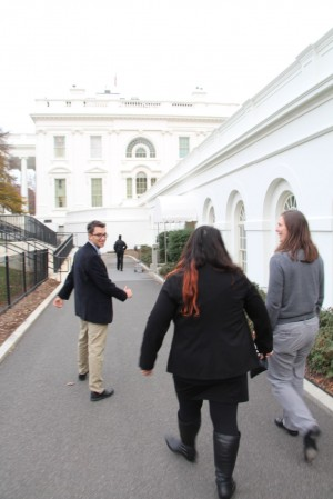 Touring the White House