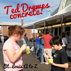 What frozen treat do visitors to St. Louis have to try? Ted Drewes, see why!