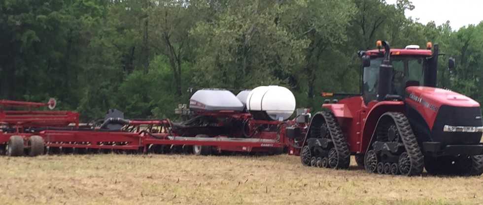 walker farms planting corn