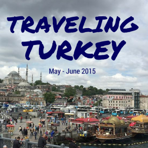 Traveling in Turkey 2015