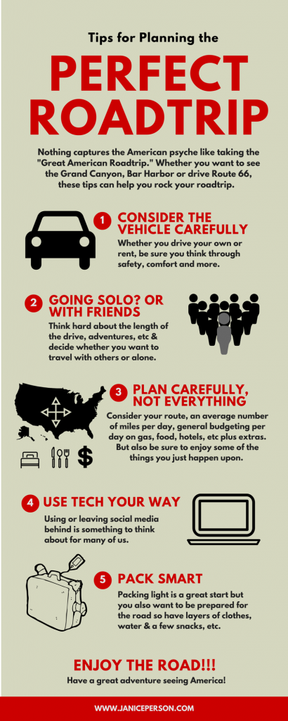 Tips for Planning the Perfect Roadtrip