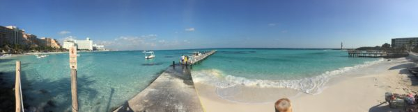 the beach in cancun