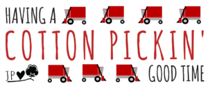 cotton pickin' good time (red)