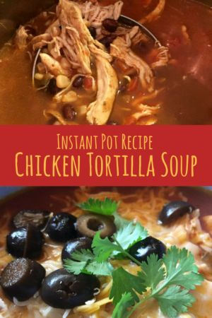 chicken tortilla soup recipe instant pot