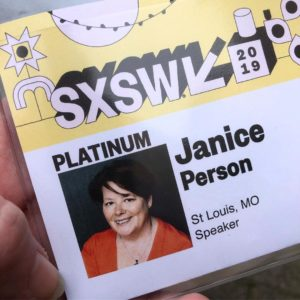 janice person sxsw speaker